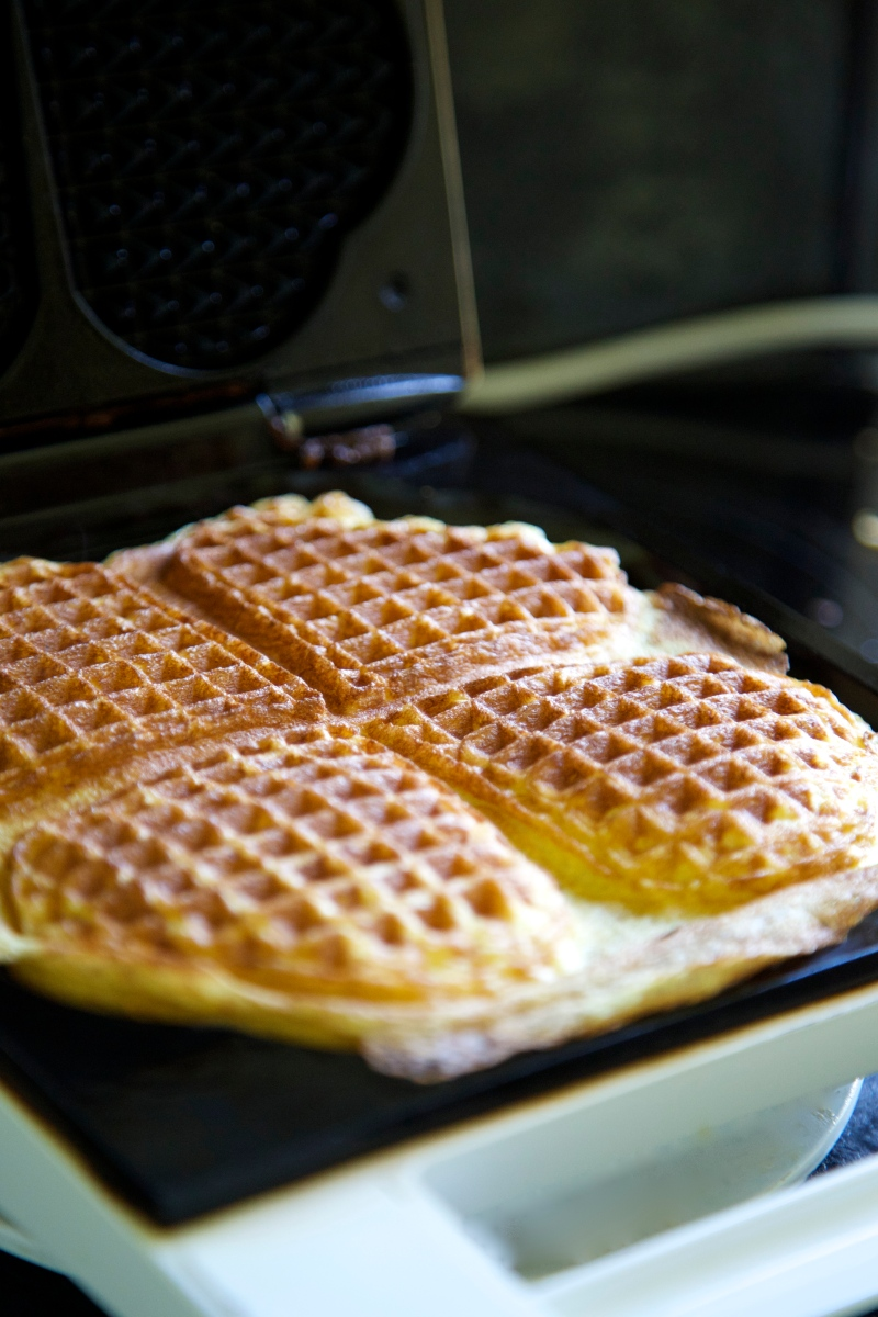Scandinavian waffles, low carb, sugar and gluten free