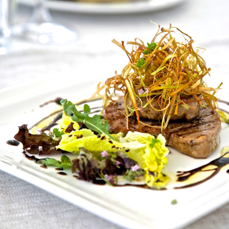 tuna with foie gras