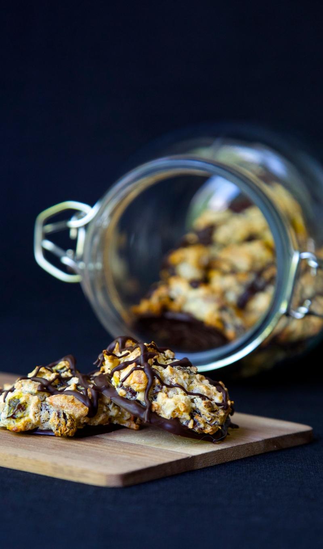 Granola cookies, sugar and wheat free