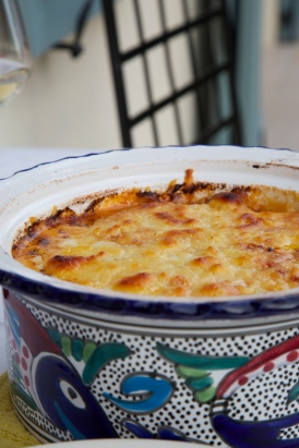 Terre et Eau Seafood  Lasagna, low-carb and gluten free