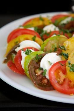 Caprese salad with balsamic vinaigrette