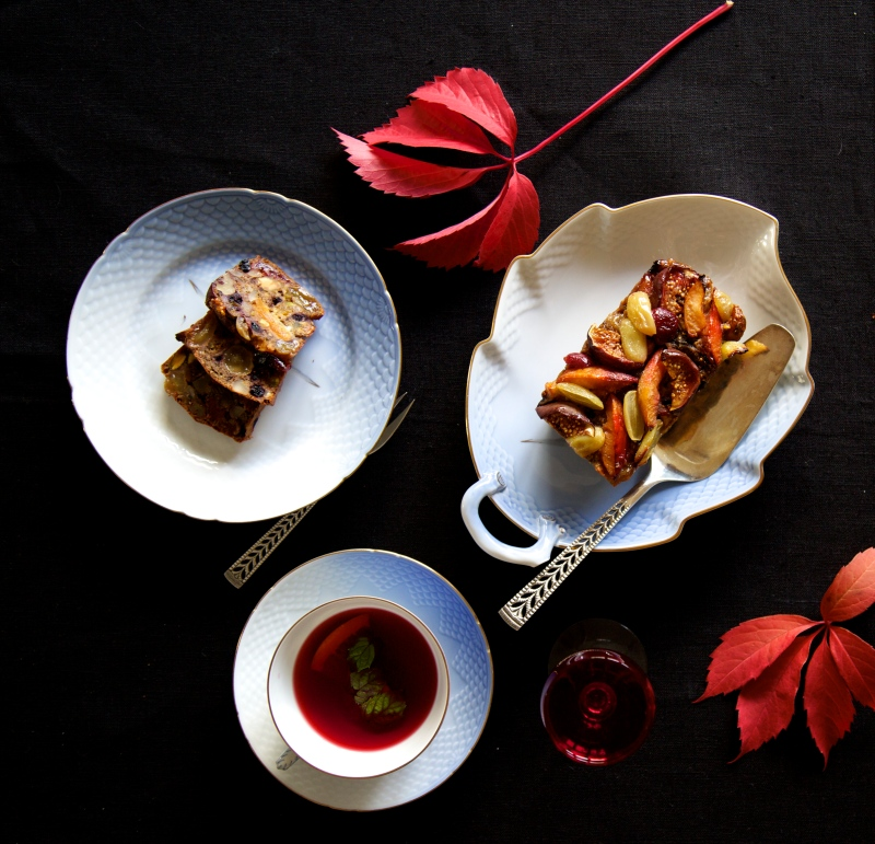 Cognac soaked Luxury Fruit Cake, no added sugar and gluten free