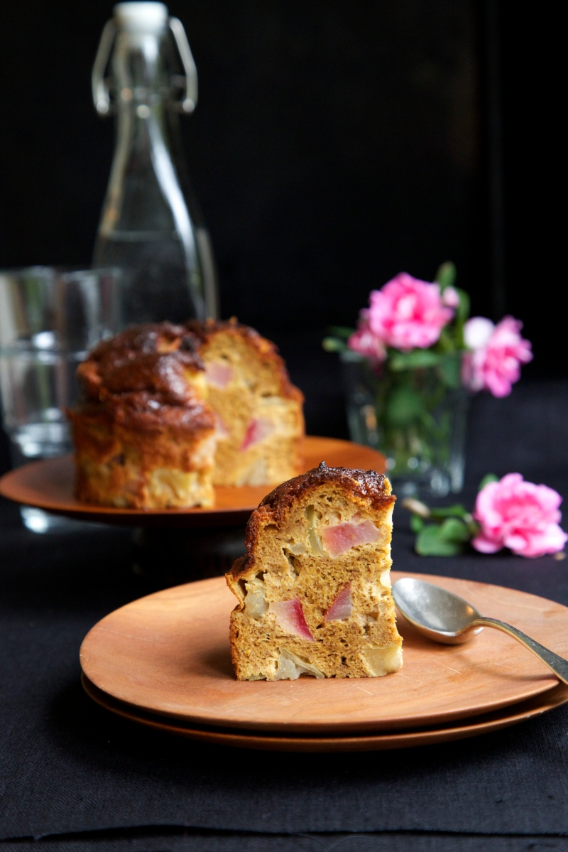 Apple Spice Cake, low-carb, gluten- and dairy free