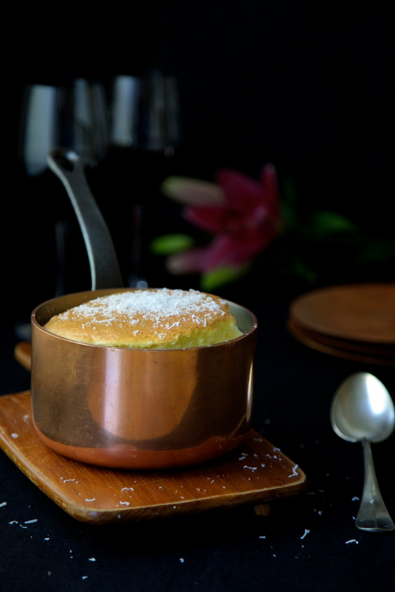 Cheese soufflé, low-carb and gluten free