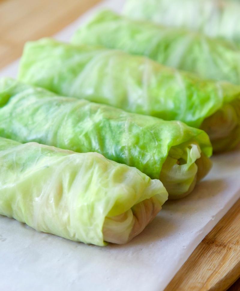 Norwegian cabbage rolls