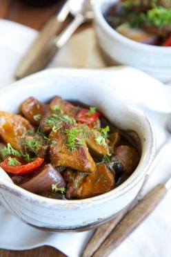 Turkish Lamb casserole - Kuzu Güveç