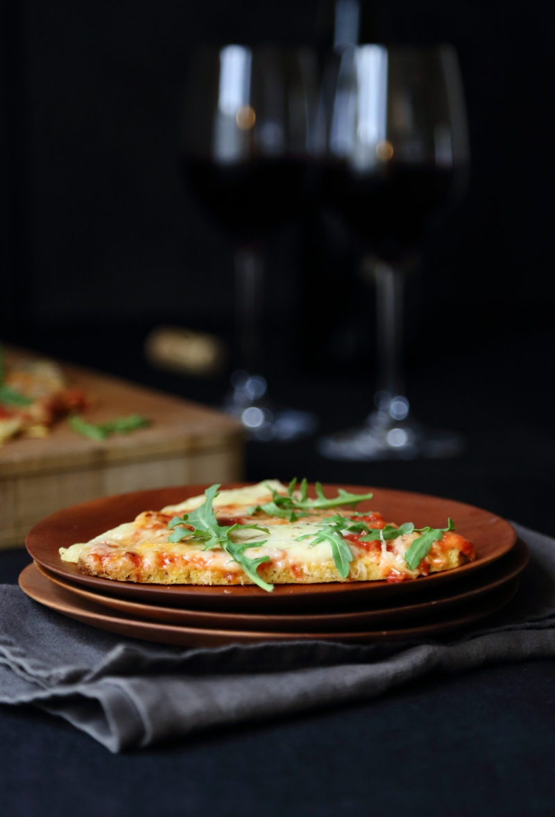Pizza, low-carb and gluten free