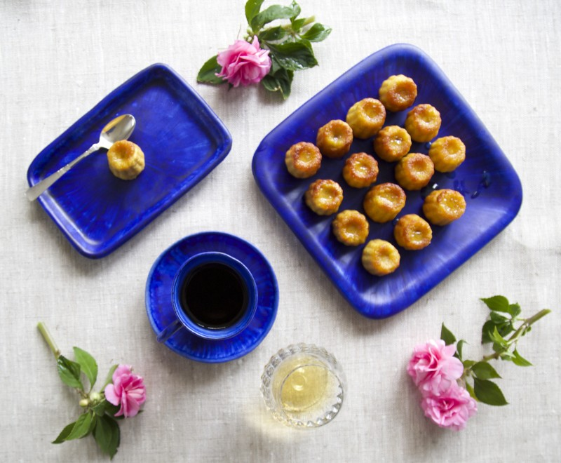 Canelés, gluten free and low carb