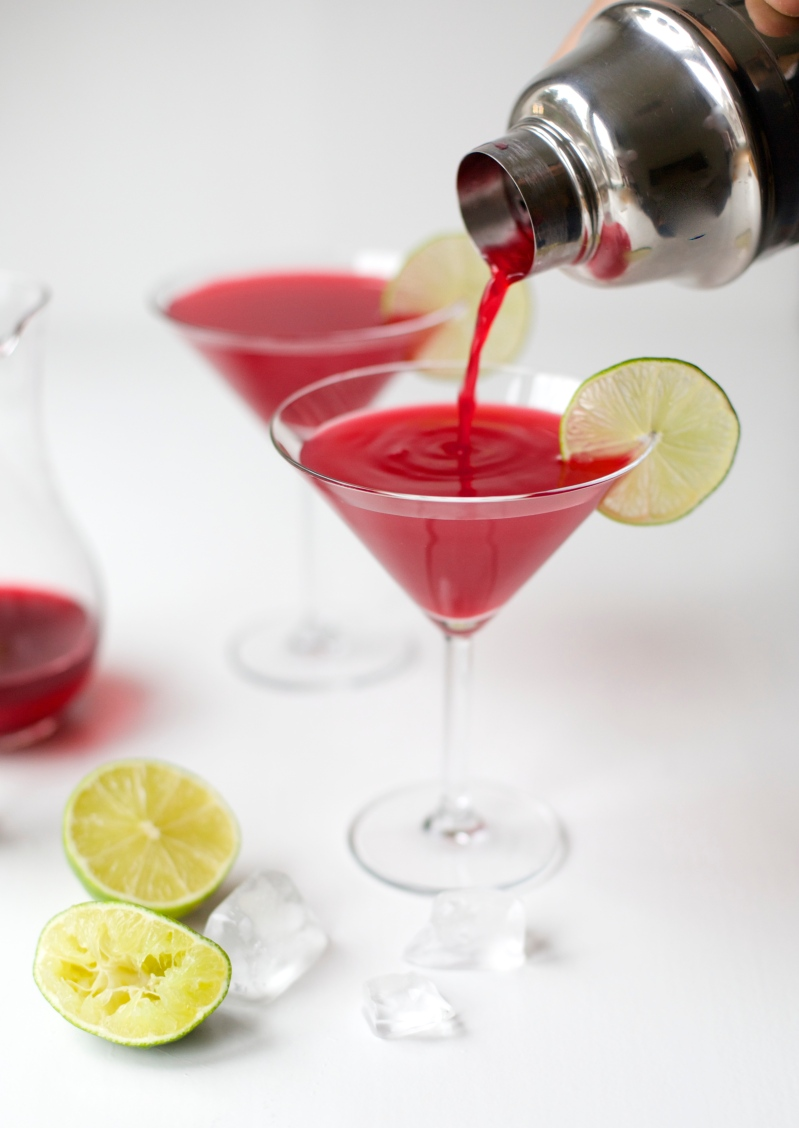 Cosmopolitan with a twist