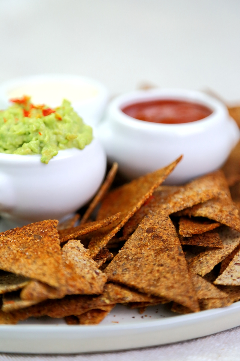 Homemade Chips, potato free, low-carb and gluten free